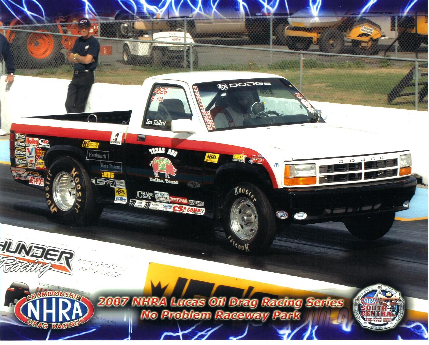 1994  Dodge Dakota S CAB  STOCKER NHRA J/FIA picture, mods, upgrades