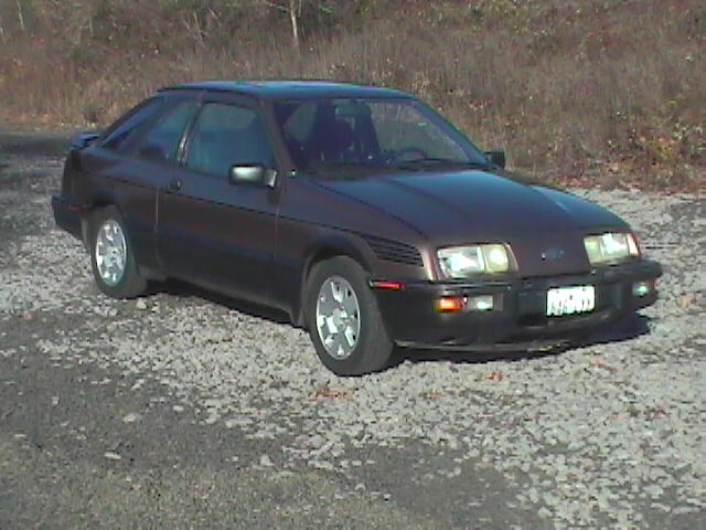 1989 Merkur XR4TI 3 Door