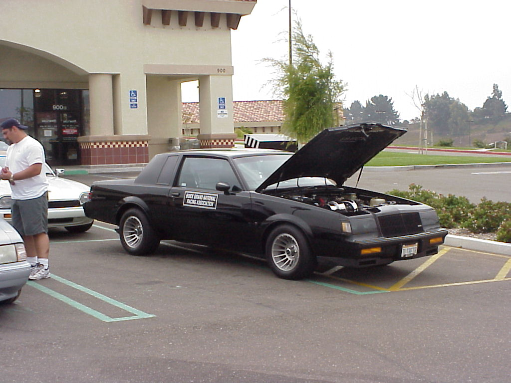 1987 buick grand national turbo t