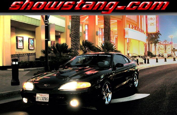 1995  Ford Mustang GT convertible picture, mods, upgrades