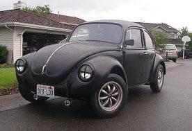 1972 Volkswagen Beetle Super 1/4 mile trap speeds 0-60 - DragTimes.com