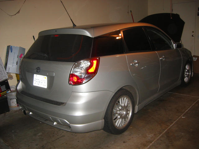 2004  Toyota Matrix XRS picture, mods, upgrades
