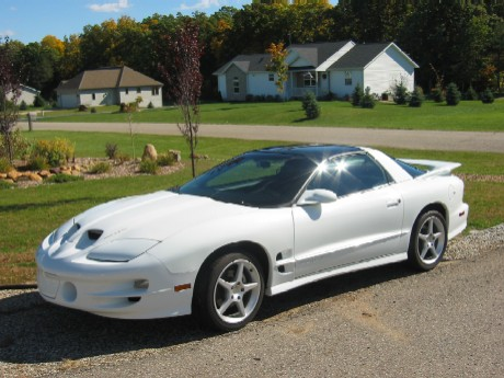 2002 Pontiac Trans Am Ram Air