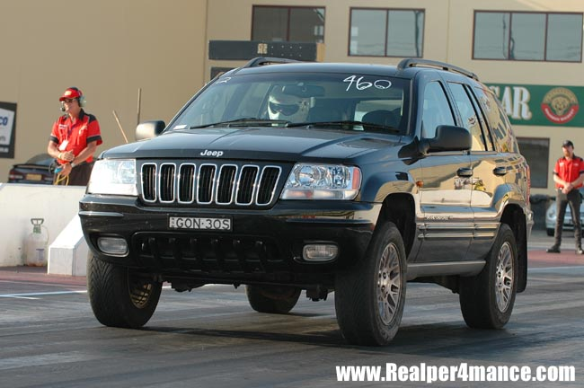 2002 Jeep Grand Cherokee limited 14 mile trap speeds 060