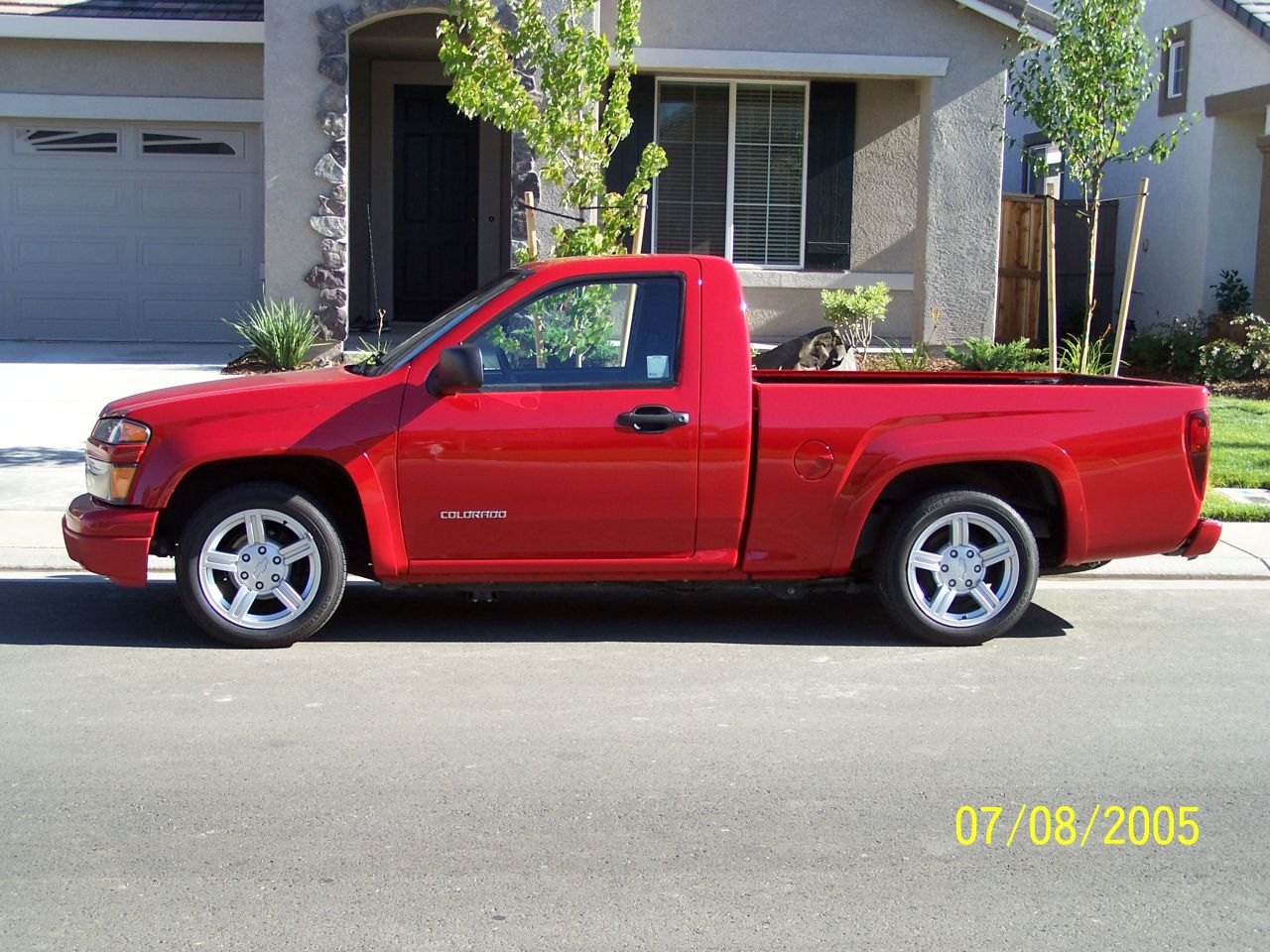 2005 chevrolet colorado regular cab ls