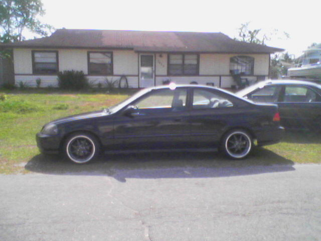 1996  Honda Civic Dx coupe picture, mods, upgrades