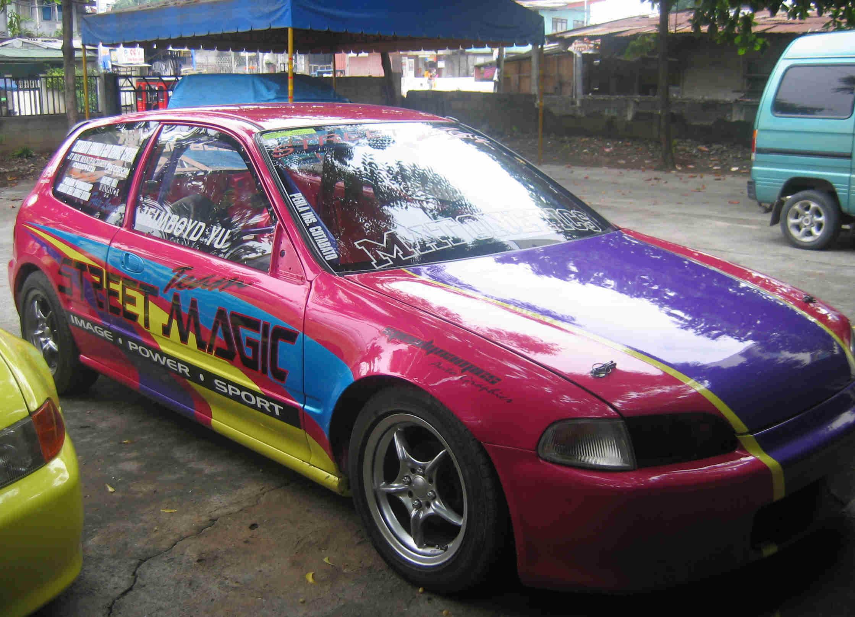 1994 Honda Civic EG Hatchback 14 mile Drag Racing timeslip specs