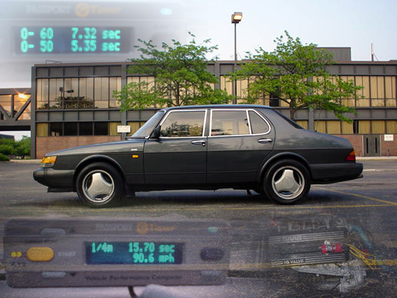 1990 Saab 900 4 door, NA, Automatic