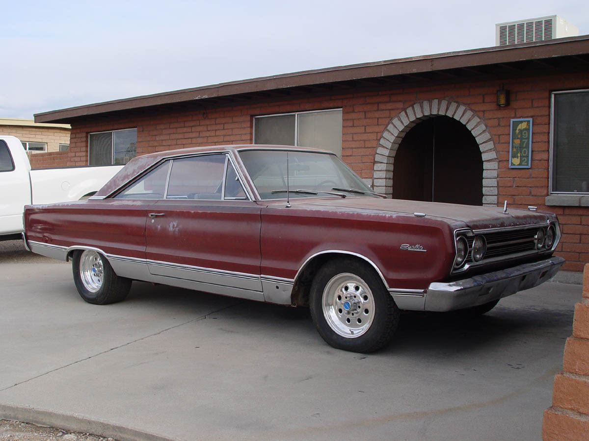1967 Plymouth Satellite 2dr ht