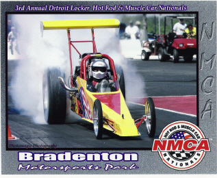 1991 Dragster Rear Engine 355 Chevy  V-8 blown alcohol