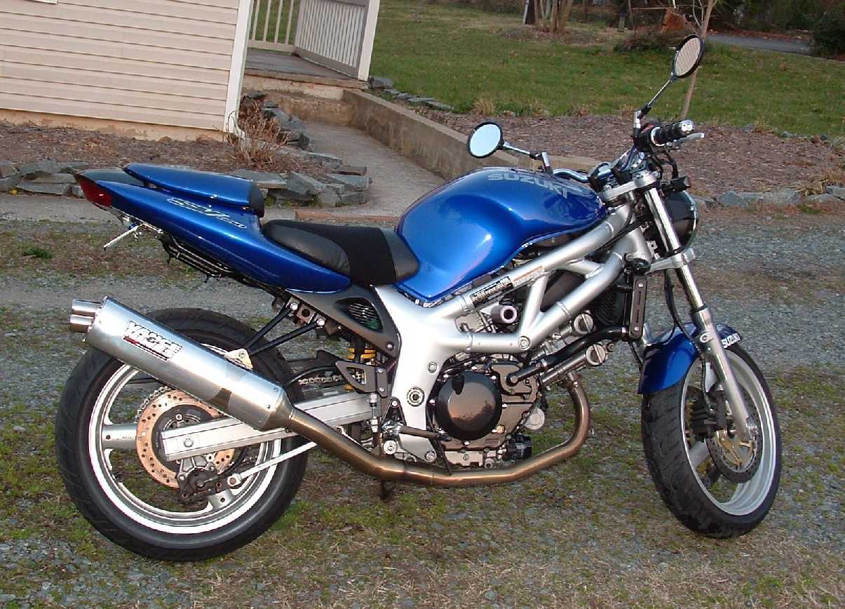 2001  Suzuki SV SV650(naked) picture, mods, upgrades