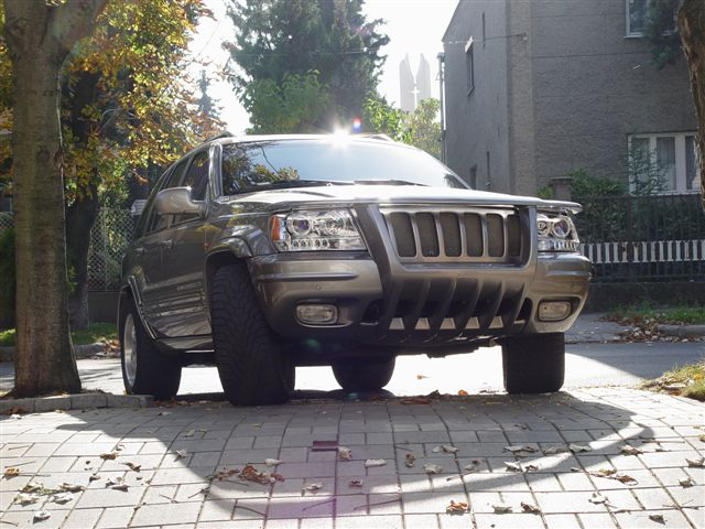 1999 Jeep Grand Cherokee Unlimited Supercharged