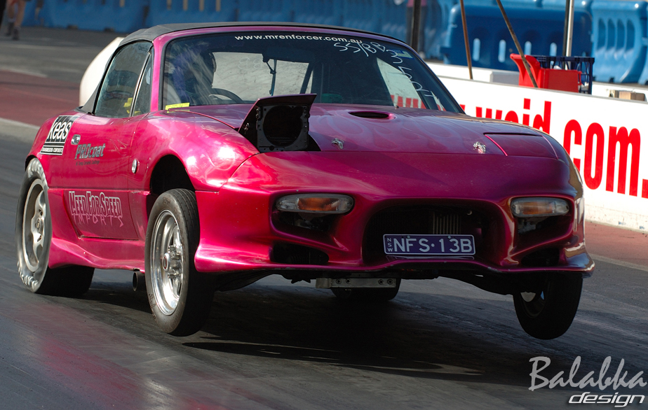 1989 Mazda Miata MX5 13b turbo 1/4 mile Drag Racing timeslip specs ...