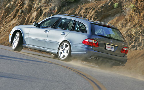 2006  Mercedes-Benz E55 AMG Wagon picture, mods, upgrades