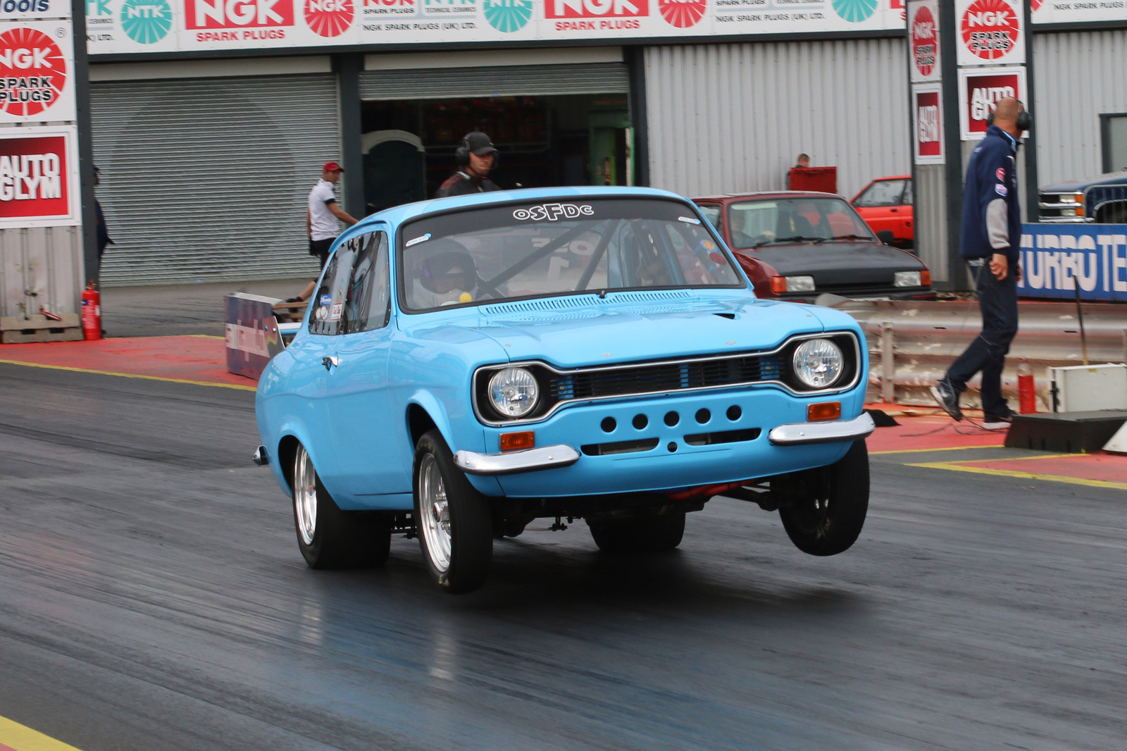 Olympic Blue 1973 Ford Escort Mk1