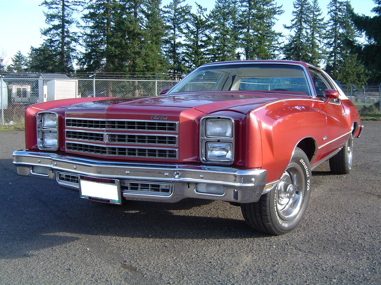 1976 Firethorn Metallic Chevrolet Monte Carlo Landau picture, mods, upgrades