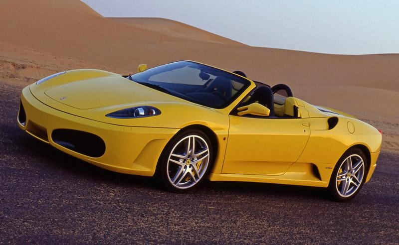 Stock 2006 Ferrari F430 F1 Spider 1/4 mile trap speeds 0-60 ...