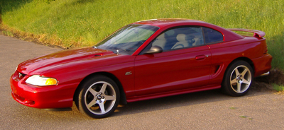 1994  Ford Mustang GT picture, mods, upgrades