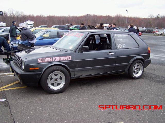 1988 Volkswagen GTI 1 4 mile trap speeds 0 60 DragTimes