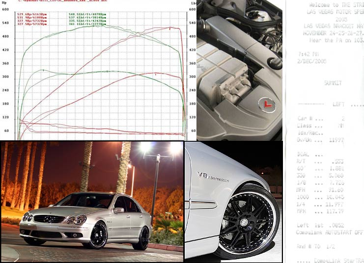2005  Mercedes-Benz C55 AMG Kleemann 55K S7 picture, mods, upgrades