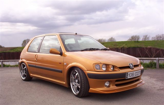 1998  Peugeot 106 GTI picture, mods, upgrades