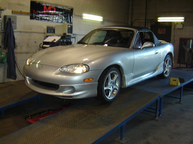 2003  Mazda Miata MX5 LS Turbo picture, mods, upgrades
