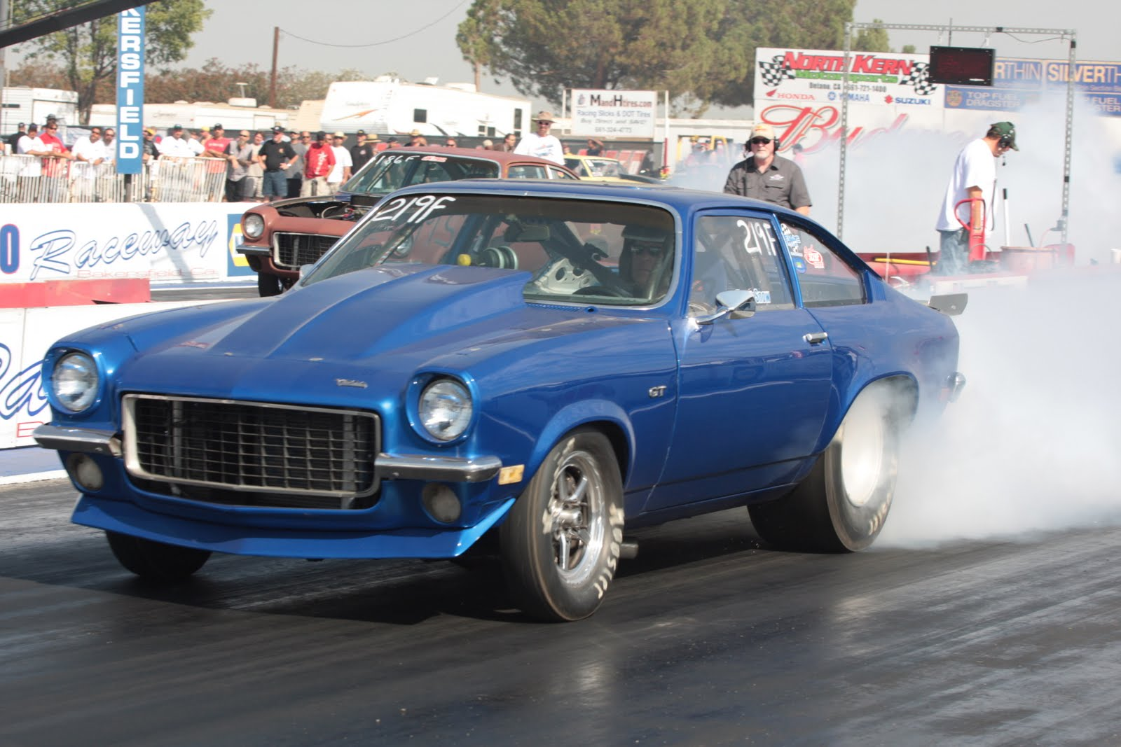 1971 Blue Chevrolet Vega GT picture, mods, upgrades