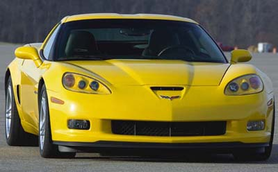 Stock 2006 Chevrolet Corvette C6 Z06 1 4 Mile Drag Racing