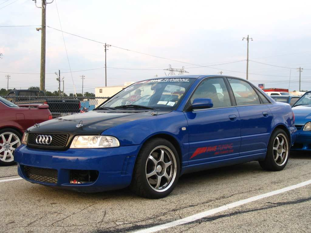 2000 Audi S4 1 4 Mile Drag Racing Timeslip Specs 0 60