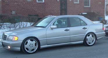 1998  Mercedes-Benz C43 with 5.5L Motor picture, mods, upgrades