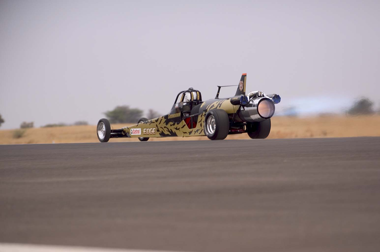 1986 Dragster Jet Powered Jet Dragster