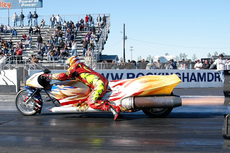 2003 Dragster Jet Powered Ballistic Eagle Jet Motorcycle