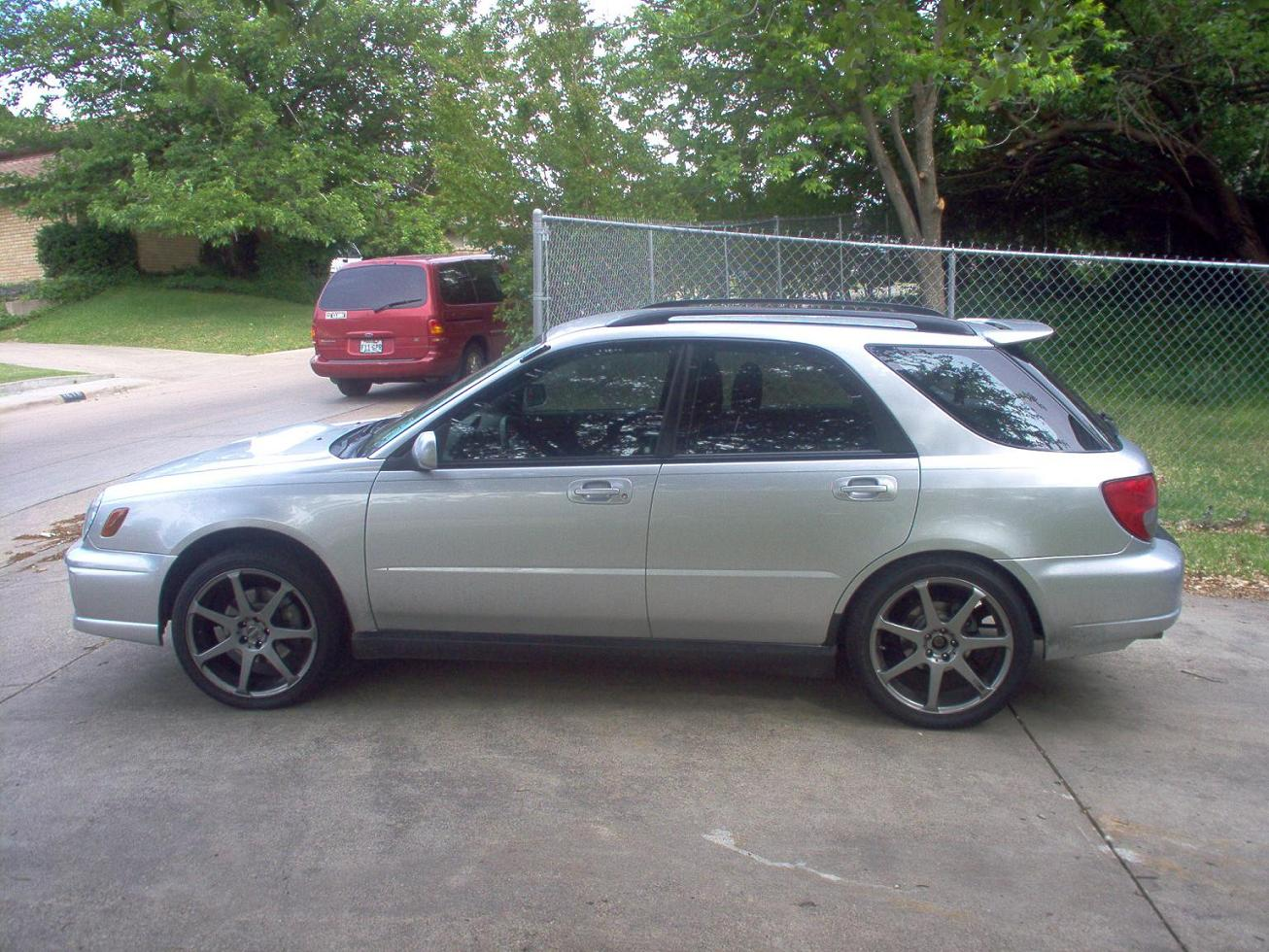 2002  Subaru Impreza WRX Wagon picture, mods, upgrades