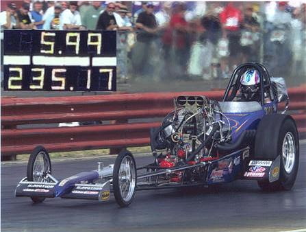 2001 Dragster Front Engine