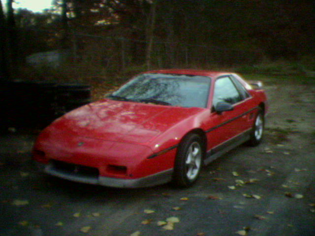 You can vote for this Pontiac Fiero GT to be the featured car of the month