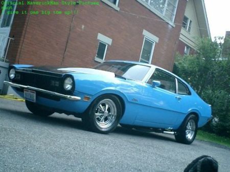 You can vote for this Ford Maverick Grabber to be the featured car of the