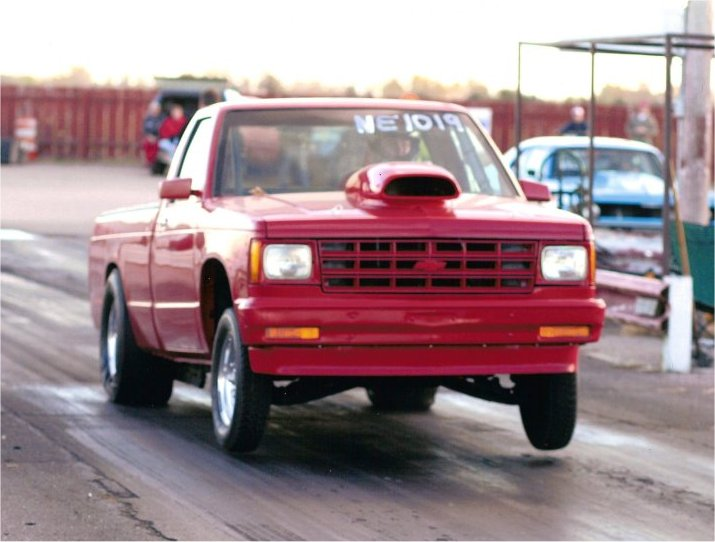 1985 Chevrolet S10 Pickup Long Bed