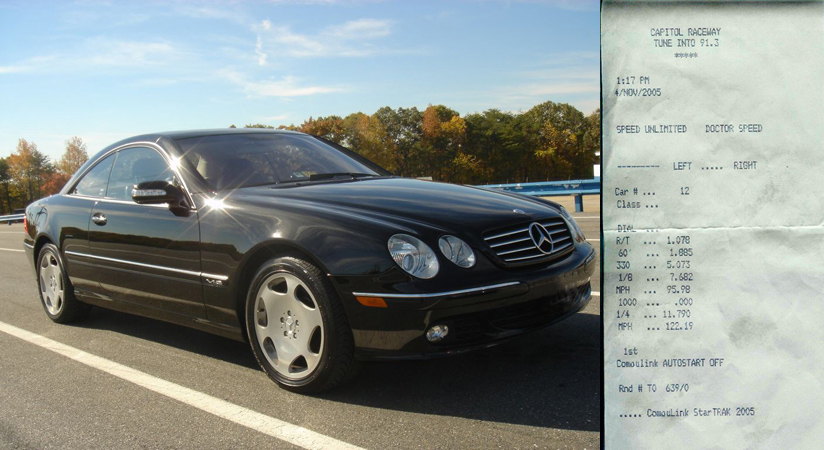 2003 Mercedes-Benz CL600
