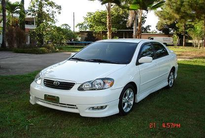 2005  Toyota Corolla xrs picture, mods, upgrades