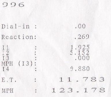 2002 porsche 911 turbo stage 4 1  4 mile trap speeds 0
