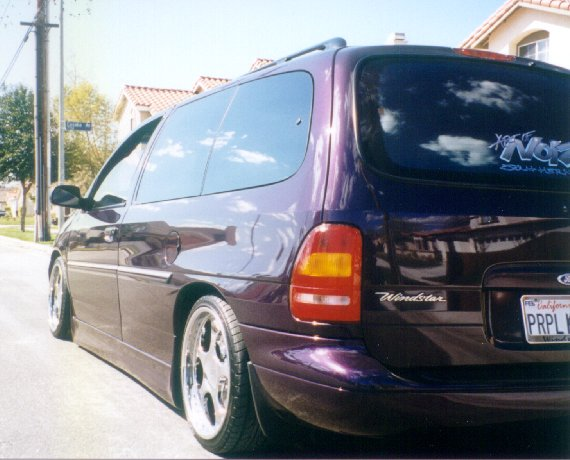 1998 Ford Windstar Gl 1 4 Mile Trap Speeds 0 60 Dragtimes Com