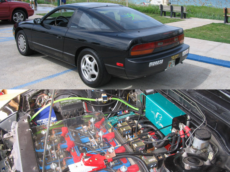 1990  Nissan 240SX Electric picture, mods, upgrades
