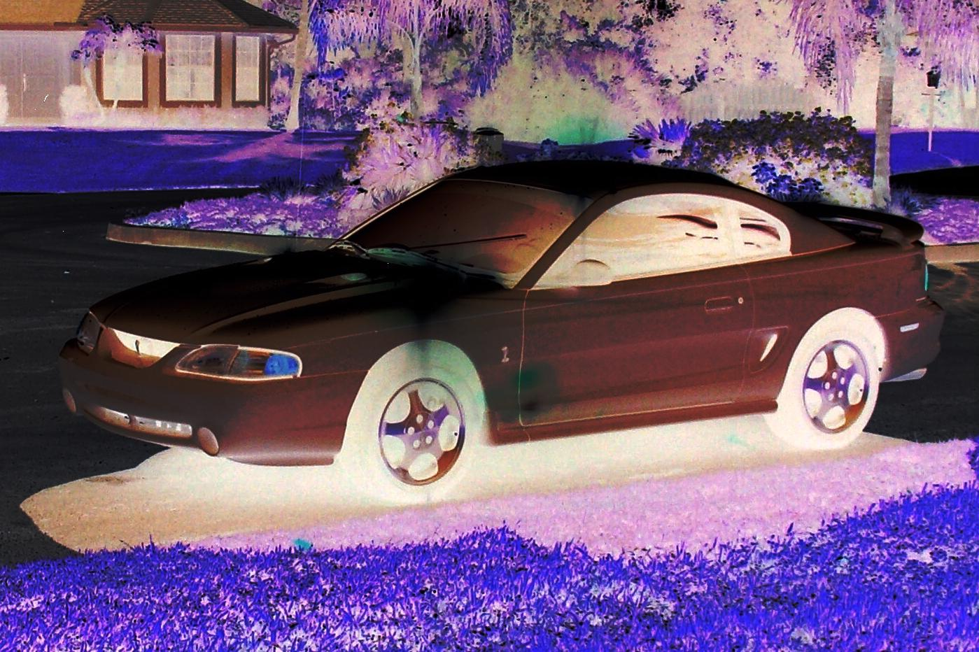 1996 Ford Mustang Cobra (stock)