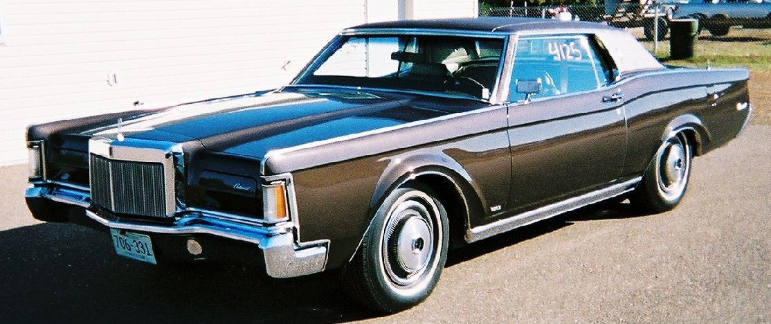 Lincoln Continental Mark Vi. 1970 Lincoln Continental Mark