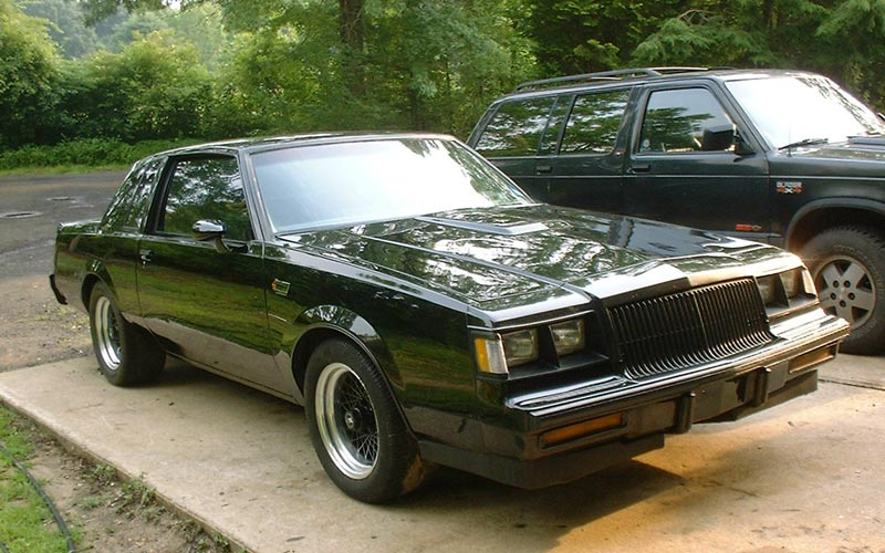 black 1986 Buick Grand National TSM -TAI