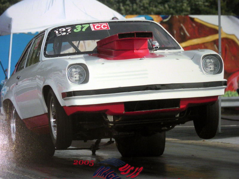 1974 Chevrolet Vega 1/4 mile Drag Racing timeslip specs 0-60 ...