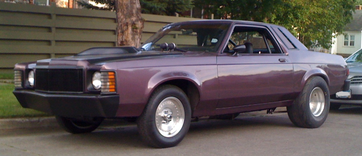 1977 Mercury Monarch 427W F2 Procharger