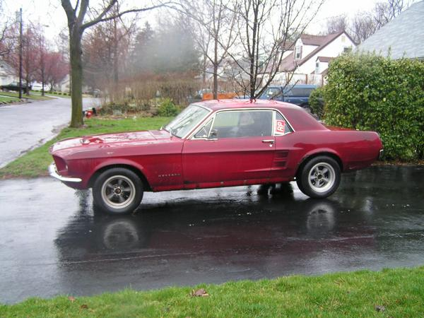 1967 Rust Ford Mustang Hardtop picture, mods, upgrades