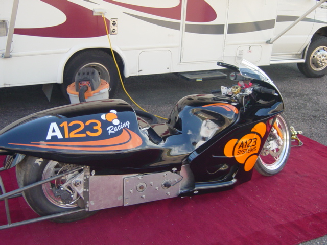 2006 Dragster Motorcycle Killacycle Electric