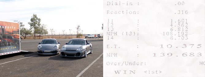 2001 Porsche 911 Turbo EVOMS GT800